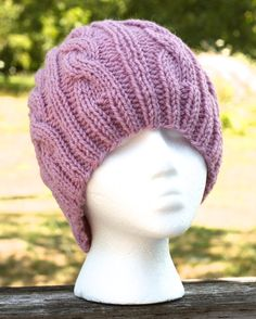 Cute knit hat for winter/fall! :)