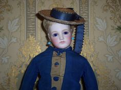 This gorgeous Portrait fashion doll is a favorite of not just me! She has an entire Fan Club! www.antiquedolltreasures.com