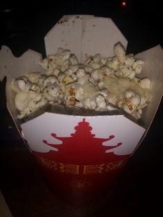 Truffle Popcorn at Drunken Dragon