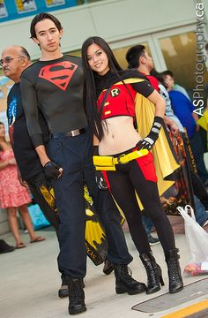 Find images and videos about cosplay, female and 2012 on We Heart It - the app to get lost in what you love. Robin Cosplay, Dc Cosplay, Cosplay Anime, Cosplay Outfits, Best Cosplay, Cosplay Ideas, Dc Costumes, Halloween Costumes For Teens, Adult Costumes