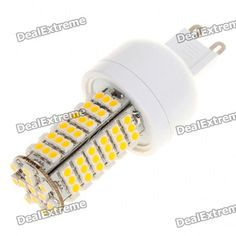 Material:: PVC; Emitter Type:: 3528 SMD; Total Emitters:: 102; Power:: 6W; Color BIN:: Warm white; Rated Voltage:: 85~265V; Luminous Flux:: 310~410LM; Color Temperature:: 3000~3500K; Connector Type:: GU9; http://j.mp/1tpfc7O