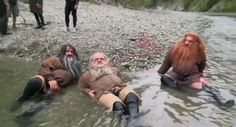 William Kircher, Mark Hadlow,  and Peter Hambleton from The Hobbit