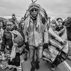 Lakota Chief Arvol Looking Horse at Standing Rock