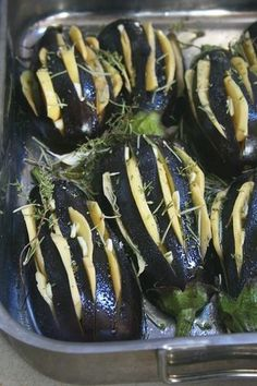 Stuffed aubergines with potatoes and toast Raw Food Recipes, Healthy Dinner Recipes, Healthy Breakfast Potatoes, Healthy Diners, Homemade Sloppy Joes, Ramadan Recipes, Juice Diet, Fries In The Oven, Barbecue Recipes