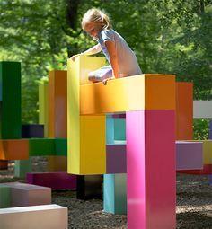 Playground Colorido para crianças