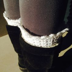 tjou-tjou: boot cuffs Boot Cuffs, Boots, How To Wear, Accessories, Fashion, Crotch Boots, Moda, Fashion Styles, Shoe Boot