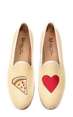 M'O Exclusive #pizzamyheart Loafer by Del Toro for Preorder on Moda Operandi Crazy Shoes, Me Too Shoes, Loafer Shoes, Loafers, Ugg Boots Cheap, Mode Shoes, Kinds Of Shoes, Pretty Shoes, Shoe Collection