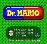Dr. Mario... played the hell outta this game back in the day