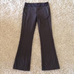 Lululemon Athletica grey athletic pants These pants are in very good condition! They have 2 back pockets. Tag inside is still attached. Elastic waist. 31 inch inseam. lululemon athletica Pants Track Pants & Joggers