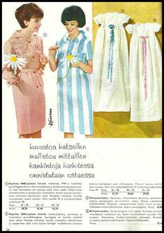 Pupuleipomo: Kodin kuvasto 1960 Summer Dresses, Retro, Fashion, Summer Sundresses, Moda, Sundresses, Fashion Styles, Fashion Illustrations, Summer Outfits