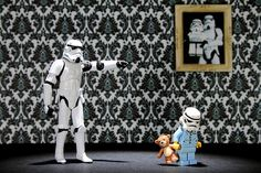 Go to Bed! Everyday life of a stormtrooper #StarWars
