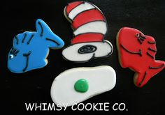 Dr. Seuss Cookie Favors « Whimsy Cookie Company – Memphis