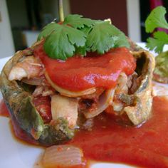 Chicken Chili Relleno – The Foodee Project