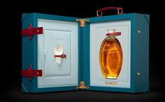 """The first in a series of five presentation cases for The Macallan in Lalique Golden Age of Travel. Each case is produced in an edition of fifty and holds a Lalique crystal decanter containing Macallan from the period. The cases will be released annually, with each edition featuring a different mode of transport (ocean liner, … Continue reading """"Golden Age of Travel"""""""