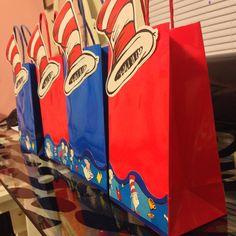 Dr seuss party bags