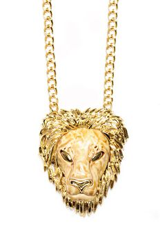 Lion necklace - new Mango collection