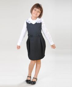 Baby Girl Dresses, Girl Outfits, School Dresses, Girls Uniforms, Tween, Preppy, Kids Fashion, Cold Shoulder Dress, How To Wear