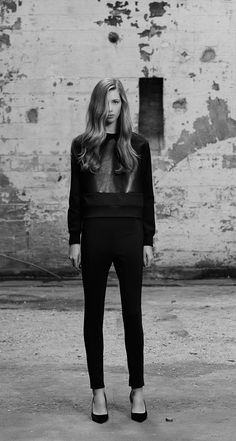 Scanlan Theodore Scuba and Leather Sweat and Scuba Trouser