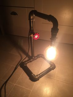 Pipe lamp by lewislightshop on Etsy