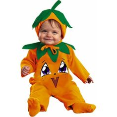 Baby Pumpkin Pie Costume