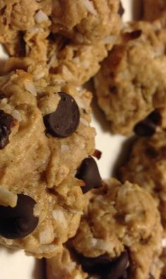 #baking #recipes #cookie recipe #almond flour #coconut #peanutbutter #yummy #darkchocolate