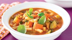 Meal in a bowl minestrone recipe - 9Kitchen