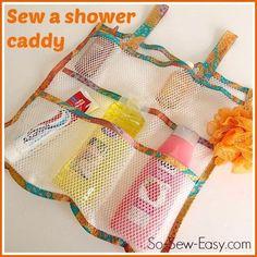 (9) Name: 'Sewing : Mesh shower organiser