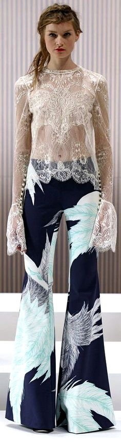 Boho I love these pants with a white top