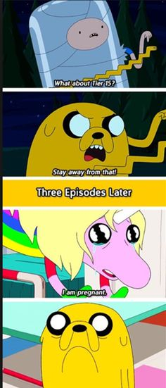 I forgot how close together these episodes were! XD