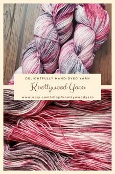 10 Hand Dyed Crochet Cotton Size 10 Small Project Size 25 75 or 100 Yards 50 Midnight Rose