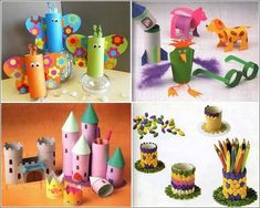 Time to Have Some Fun and Create Paper Roll Crafts with Kids
