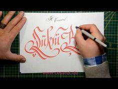 Kaligrafide süsleme teknikleri- takipçi istekleri 9 - Abdurrahman Cesaret