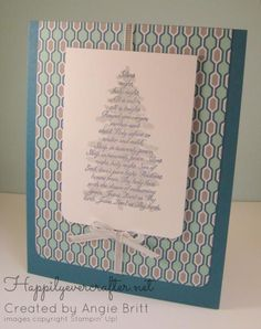 Oh Christmas Tree by abritt226 - Cards and Paper Crafts at Splitcoaststampers