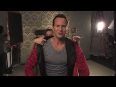 Parody: Actor Patrick Wilson as a Model of Overly Specific Stock Photographs