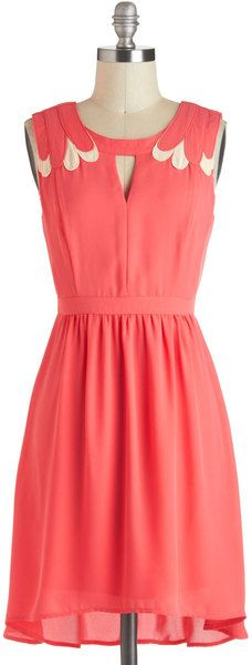 Strawberries and Cream Dress - Lyst
