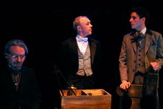 Christopher Leidenfrost (Dr. Alan Campbell), Michael Whitney (Victor) and Francesco Andolfi (Dorian Gray); photo by Antonio Minino