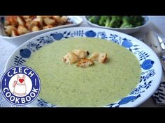 Broccoli Soup Recipe - Brokolicová polévka - Czech Cookbook