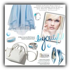 Jeulia by janee-oss on Polyvore featuring moda, Theo, women's clothing, women's fashion, women, female, woman, misses, juniors and jewelry