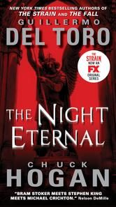 The Night Eternal - by Guillermo Del Toro, Chuck Hogan - It's been two years since the vampiric virus was unleashed in The Strain, and the entire world now lies on the brink of annihilation. There is only night as nuclear winter blankets the land, the sun filtering through the poisoned atmosphere for two hours each day—the perfect environment for the propagation of vampires. #Kobo #eBook #Vampires