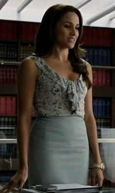 Work corporate attire - Rachel Zane from suits does it well! I like that!