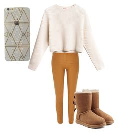 """""""Fall outfits for me"""" by being-perfect-is-a-fantasy on Polyvore featuring River Island and UGG Australia"""