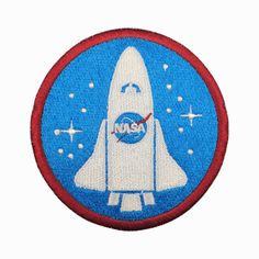 NASA Patch Space Center Uniform Clothing Polo Jacket Shirt Embroidered Iron on Sew on patches