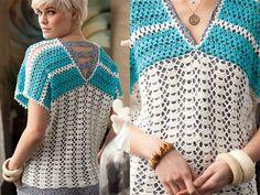 vogue crochet patterns free – Knitting Tips Crochet Designs, Crochet Patterns, Vogue Knitting, Knitting Magazine, Apron Dress, Crochet Videos, Crochet Basics, Short Tops, Crochet Clothes