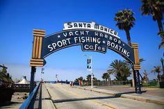 "Route 66 - Santa Monica Pier, California. ""The Fine Art Photography of Frank Romeo."""