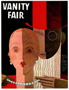 Vanity Fair; December 1930; Illustration by Eduardo Garcia Benito.