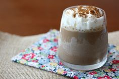 Cinnamon dolce frozen coffee