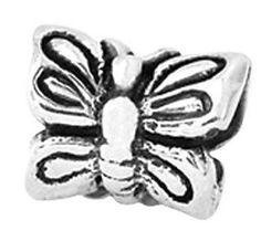 Prerogatives Sterling Butterfly Bead