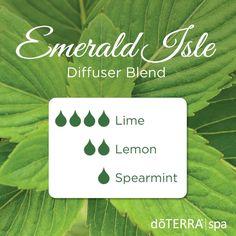 Emerald isle - lime, lemon and spearmint