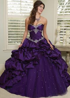 Vizcaya by Mori Lee 88030 Sparkly Ball Gown