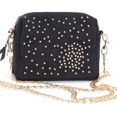 Atlantis Mini Messenger in Black | Compact mini messenger perfect for a night out!